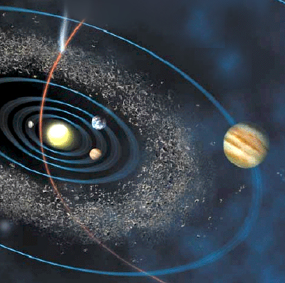 is the asteroid belt an exploded planet